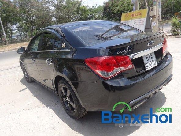Bán xe Chevrolet Cruze Ltz, màu đen đã đi 12000 km, giá 590 triệu-5