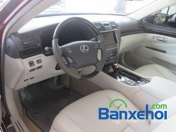 Salon ô tô Chính Hùng cần bán gấp Lexus LS 600H L năm 2008, màu đỏ đã đi 75640 km-6