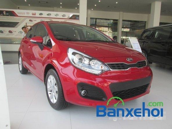 Kia Bình Tân bán xe Kia Rio 2015, màu đỏ, giá bán 550Tr-1