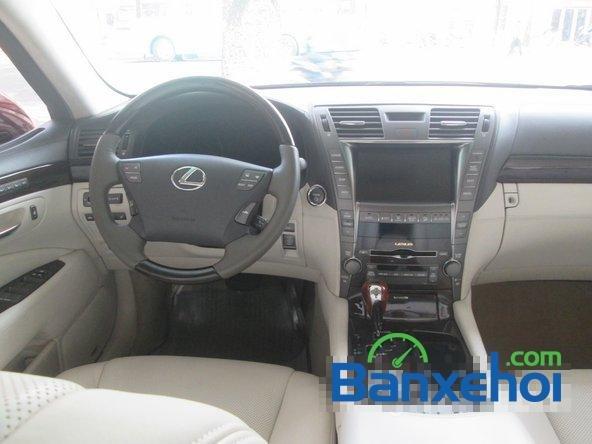 Salon ô tô Chính Hùng cần bán gấp Lexus LS 600H L năm 2008, màu đỏ đã đi 75640 km-7