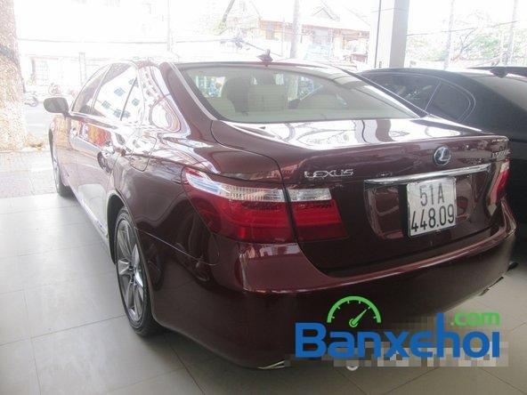 Salon ô tô Chính Hùng cần bán gấp Lexus LS 600H L năm 2008, màu đỏ đã đi 75640 km-4