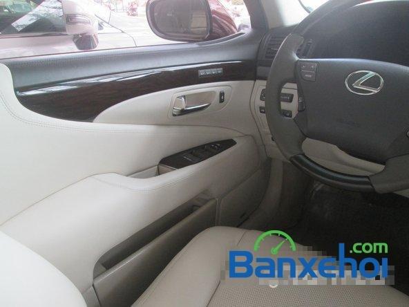 Salon ô tô Chính Hùng cần bán gấp Lexus LS 600H L năm 2008, màu đỏ đã đi 75640 km-11
