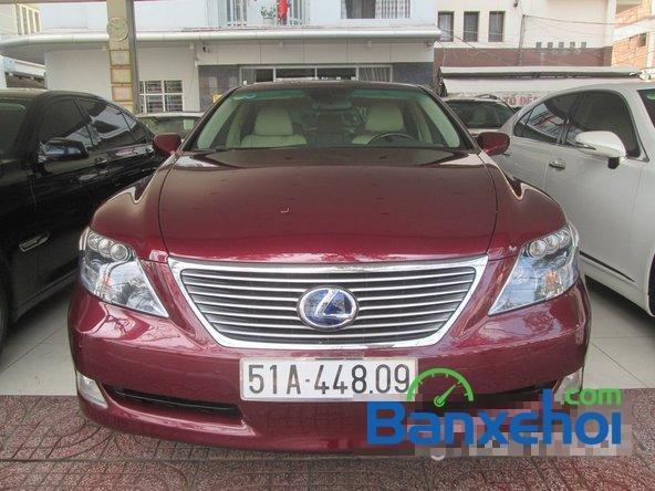 Salon ô tô Chính Hùng cần bán gấp Lexus LS 600H L năm 2008, màu đỏ đã đi 75640 km-0