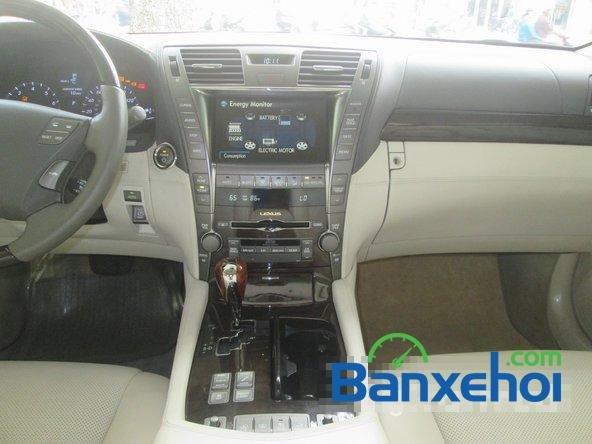 Salon ô tô Chính Hùng cần bán gấp Lexus LS 600H L năm 2008, màu đỏ đã đi 75640 km-10