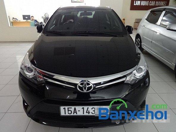 Chợ ô tô Lâm Hùng cần bán xe Toyota Vios đời 2014, màu đen-0