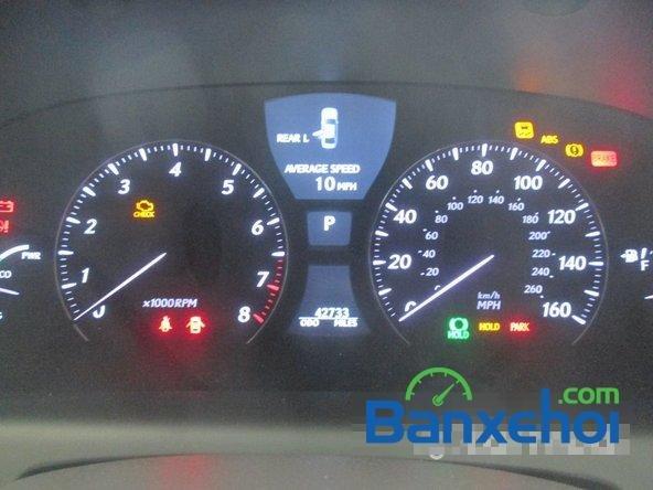 Salon ô tô Chính Hùng cần bán gấp Lexus LS 600H L năm 2008, màu đỏ đã đi 75640 km-8