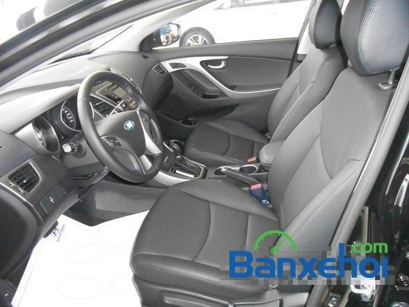 Hyundai Long Biên cần bán Hyundai Elantra Gls đời 2015, màu đen-5