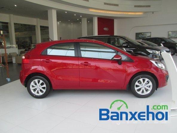 Kia Bình Tân bán xe Kia Rio 2015, màu đỏ, giá bán 550Tr-2