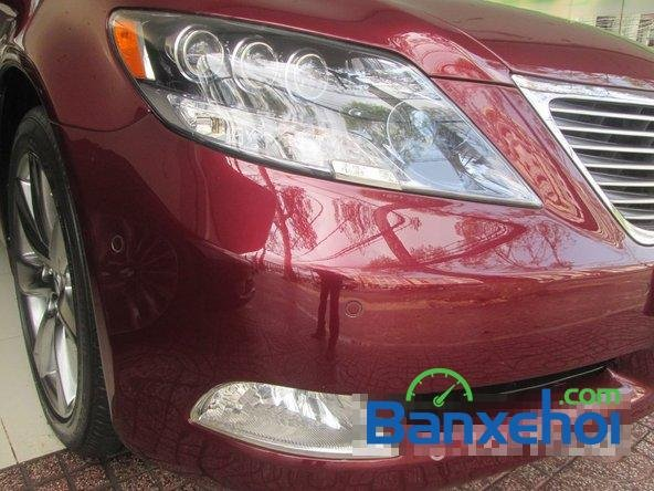 Salon ô tô Chính Hùng cần bán gấp Lexus LS 600H L năm 2008, màu đỏ đã đi 75640 km-2