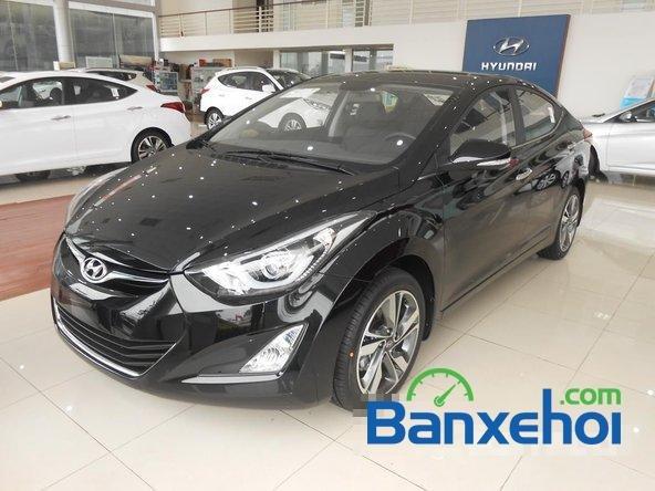 Hyundai Long Biên cần bán Hyundai Elantra Gls đời 2015, màu đen-1
