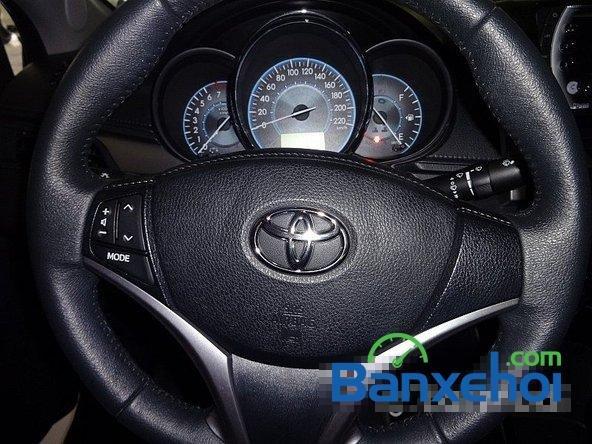 Chợ ô tô Lâm Hùng cần bán xe Toyota Vios đời 2014, màu đen-11