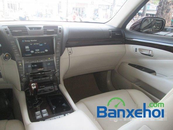 Salon ô tô Chính Hùng cần bán gấp Lexus LS 600H L năm 2008, màu đỏ đã đi 75640 km-9