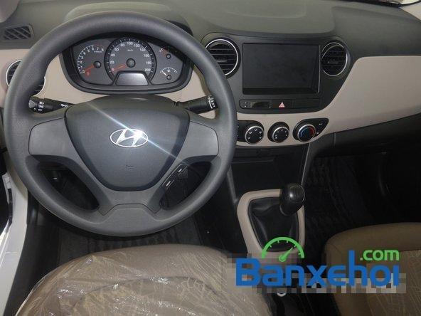 Hyundai An Sương cần bán xe Hyundai i10 Grand đời 2015, màu trắng, giá 387Tr-6