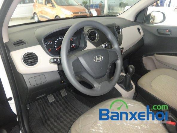 Hyundai An Sương cần bán xe Hyundai i10 Grand đời 2015, màu trắng, giá 387Tr-5