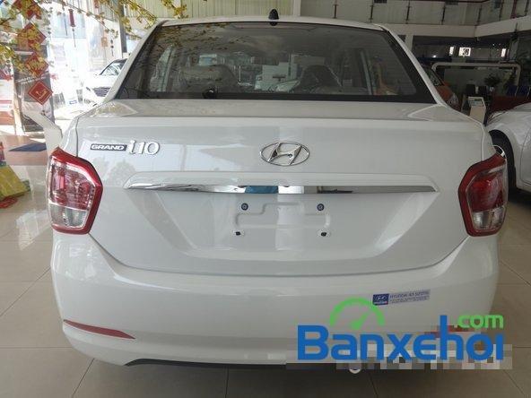 Hyundai An Sương cần bán xe Hyundai i10 Grand đời 2015, màu trắng, giá 387Tr-4