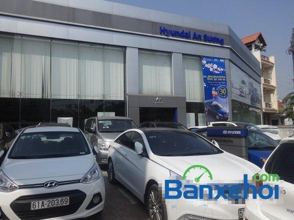 Hyundai An Sương cần bán xe Hyundai i10 Grand đời 2015, màu trắng, giá 387Tr-8