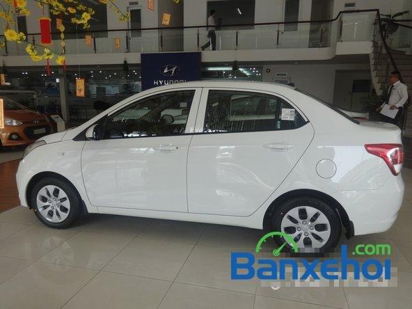 Hyundai An Sương cần bán xe Hyundai i10 Grand đời 2015, màu trắng, giá 387Tr-2