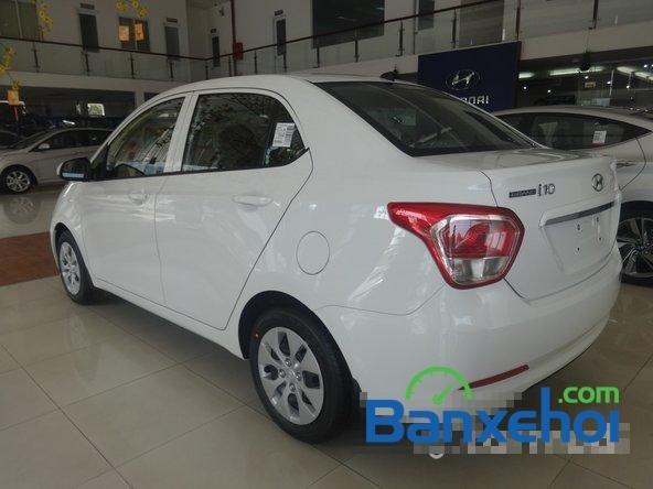 Hyundai An Sương cần bán xe Hyundai i10 Grand đời 2015, màu trắng, giá 387Tr-3