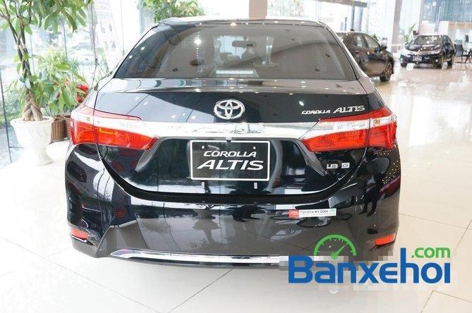 Toyota Mỹ Đình - CN Cầu Diễn I New Car bán Toyota Corolla Altis 1.8 G đời 2015, màu đen, giá 815Tr-6