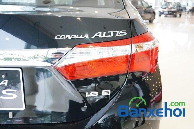Toyota Mỹ Đình - CN Cầu Diễn I New Car bán Toyota Corolla Altis 1.8 G đời 2015, màu đen, giá 815Tr-5