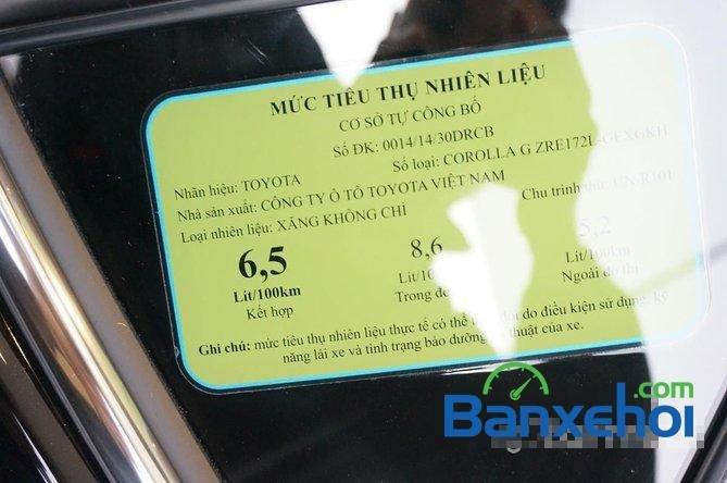 Toyota Mỹ Đình - CN Cầu Diễn I New Car bán Toyota Corolla Altis 1.8 G đời 2015, màu đen, giá 815Tr-8