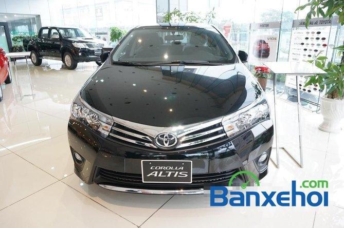 Toyota Mỹ Đình - CN Cầu Diễn I New Car bán Toyota Corolla Altis 1.8 G đời 2015, màu đen, giá 815Tr-0