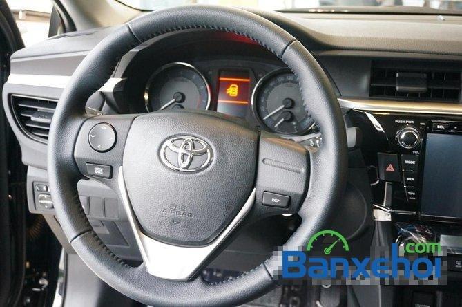 Toyota Mỹ Đình - CN Cầu Diễn I New Car bán Toyota Corolla Altis 1.8 G đời 2015, màu đen, giá 815Tr-12