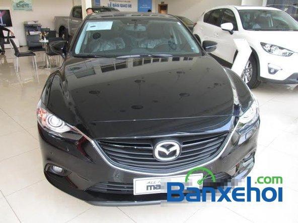 Hotline Mazda 68 Lê Văn Lương bán xe Mazda 6 sản xuất 2015, màu đen, giá 998Tr-1