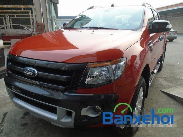 Ford Mỹ Đình cần bán Ford Ranger đời 2015, màu đỏ, giá bán 804Tr-1