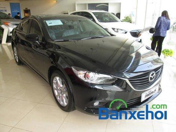 Hotline Mazda 68 Lê Văn Lương bán xe Mazda 6 sản xuất 2015, màu đen, giá 998Tr-0
