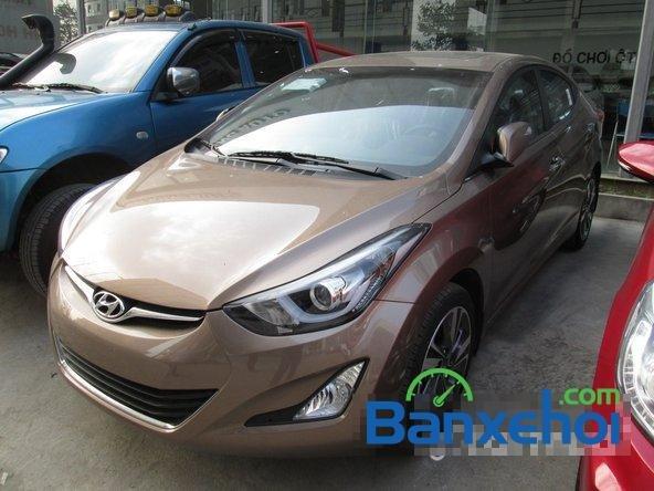 Bán ô tô Hyundai Elantra đời 2015, màu nâu, giá 739 triệu-1