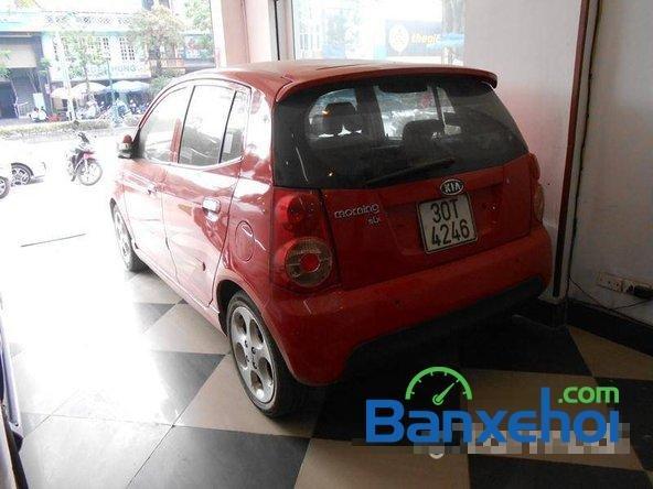 Cần bán gấp Kia Morning SLX đời 2008, màu đỏ đã đi 70000 km, giá bán 305Tr-3