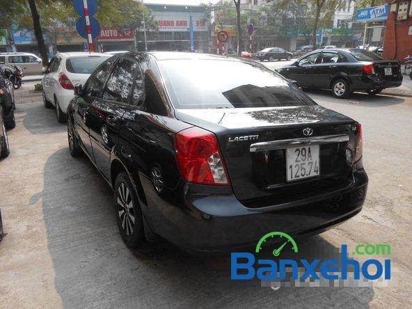 Bán Daewoo Lacetti đời 2011, màu đen đã đi 30000 km, giá 375Tr-3