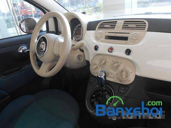 Cần bán gấp Fiat 500 đời 2009, màu trắng đã đi 20000 km, giá 550Tr-6