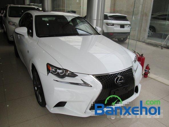 Việt Auto cần bán Lexus IS 250 đời 2014, màu trắng, nhập khẩu-1