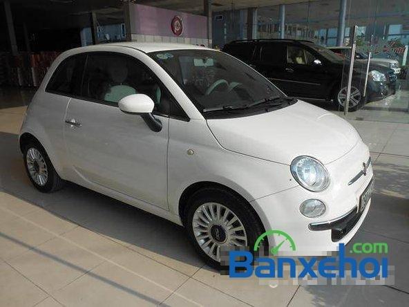 Cần bán gấp Fiat 500 đời 2009, màu trắng đã đi 20000 km, giá 550Tr-0