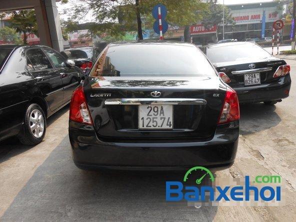 Bán Daewoo Lacetti đời 2011, màu đen đã đi 30000 km, giá 375Tr-4