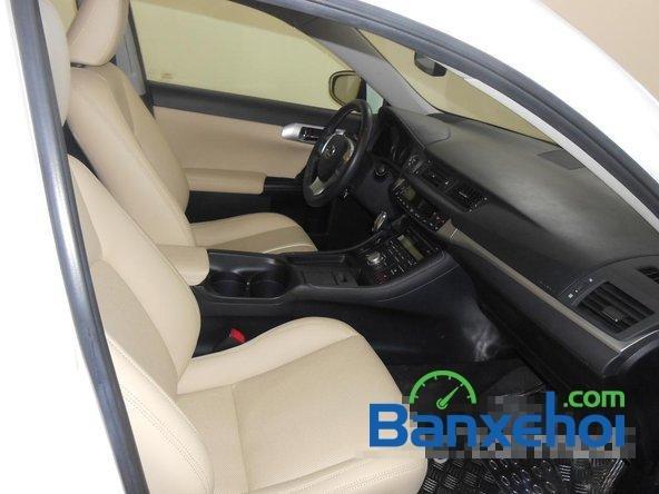 Auto 455 bán xe Lexus CT 200H đời 2013, màu trắng đã đi 18000 km-7