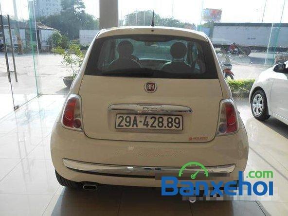 Cần bán gấp Fiat 500 đời 2009, màu trắng đã đi 20000 km, giá 550Tr-3