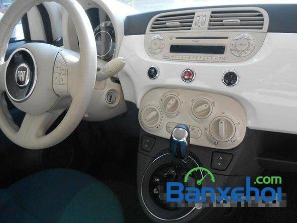 Cần bán gấp Fiat 500 đời 2009, màu trắng đã đi 20000 km, giá 550Tr-7