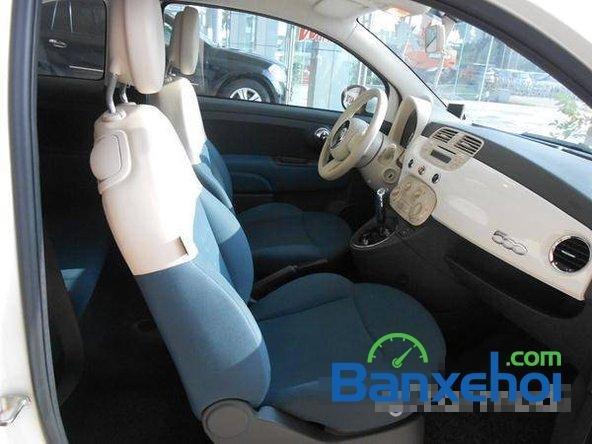 Cần bán gấp Fiat 500 đời 2009, màu trắng đã đi 20000 km, giá 550Tr-5