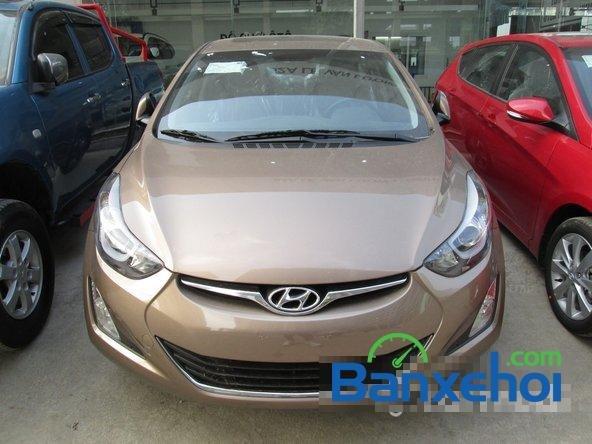 Bán ô tô Hyundai Elantra đời 2015, màu nâu, giá 739 triệu-0