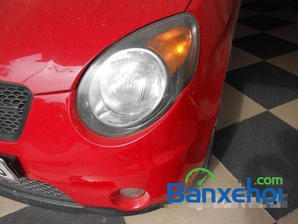 Cần bán gấp Kia Morning SLX đời 2008, màu đỏ đã đi 70000 km, giá bán 305Tr-2