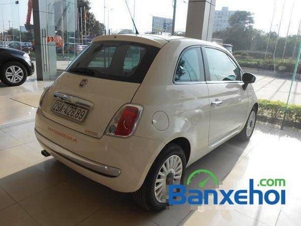 Cần bán gấp Fiat 500 đời 2009, màu trắng đã đi 20000 km, giá 550Tr-2