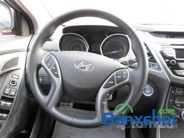 Bán ô tô Hyundai Elantra đời 2015, màu nâu, giá 739 triệu-9