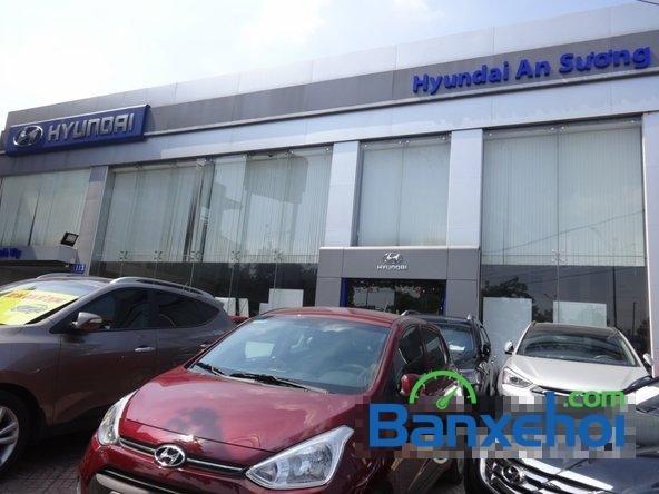 Hyundai An Sương bán xe Hyundai Santa Fe sản xuất 2014, nhập khẩu -8