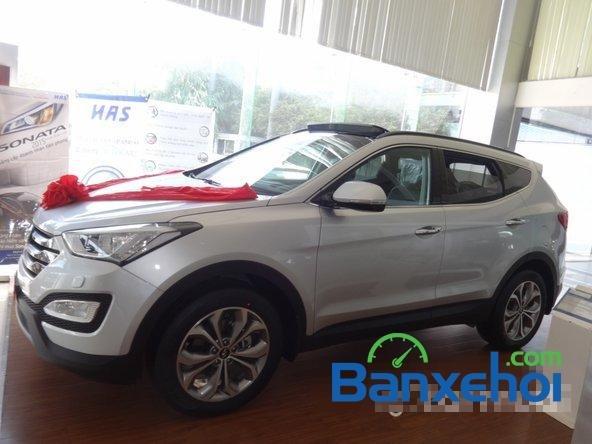 Hyundai An Sương bán xe Hyundai Santa Fe sản xuất 2014, nhập khẩu -2