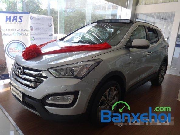 Hyundai An Sương bán xe Hyundai Santa Fe sản xuất 2014, nhập khẩu -1