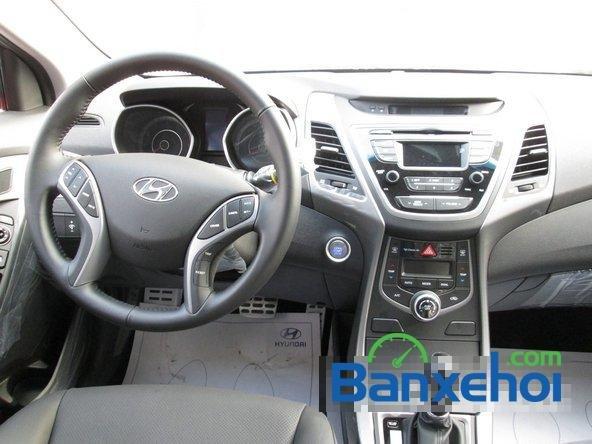 Bán ô tô Hyundai Elantra đời 2015, màu nâu, giá 739 triệu-7