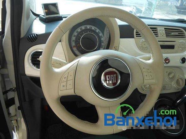 Cần bán gấp Fiat 500 đời 2009, màu trắng đã đi 20000 km, giá 550Tr-9